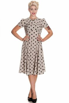Hell Bunny Women's Madden 50s 40s Retro Vintage Dress