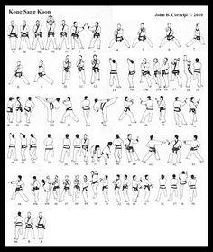 Tang Soo Do Forms Diagrams 2006 Sterling Truck Wiring 46 Best Tips Images Martial Arts H Kong Sang Koon Chon Kyong