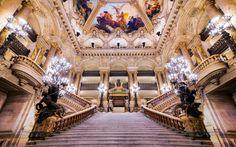 Ceiling at the Paris Opera House, Paris, France by Joe Daniel Price on 500px