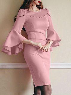 Simple Dresses for women Halter Mini Dress, Maxi Dress With Sleeves, Short Sleeve Dresses, Simple Dresses, Casual Dresses, Fashion Dresses, Jumpsuit Dress, Bodycon Dress, Backless Maxi Dresses