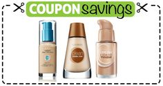 For a flawless base, here's a #coupon to #save 50¢ off #Covergirl Liquid Foundation