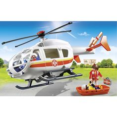 """Toys """"R"""" Us - PLAYMOBIL - Traumahelikopter - 6686"""