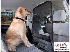 Solvit Front Seat Net Pet Barrier for Cars | Coupaw