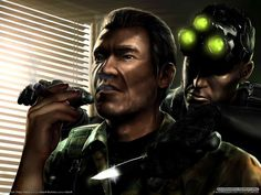 Splinter cell - taustakuvia ilmaiseksi: http://wallpapic-fi.com/pelit/splinter-cell/wallpaper-17772