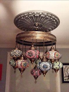15 billes Arabian lustre mosaïque Turkish Light par BeautyofTurkey