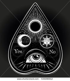 Image result for ouija planchette