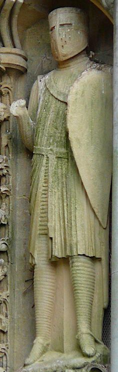 Wells Cathedral, West Front Statue 145