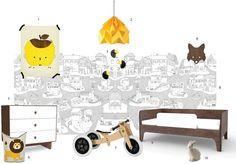 kids design jukebox - a misura di bimbo Kids Collage, Collage Ideas, Jukebox, Toddler Bed, Kids Room, Toys, Children, Interior, Furniture