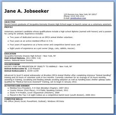 Veterinarian Resume Pinsami Jo Westenbarger On Veterinary Assistant  Pinterest
