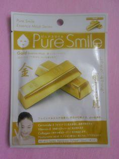 ♥ Unikitty Korean Beauty ♥: ♥ Pure Smile Essence Mask Gold REVIEW ♥