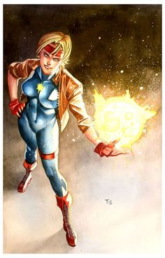 failed-mad-scientist:  Dazzler - Thony Silas