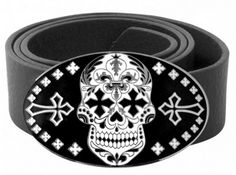 King Baby's Day Of The Dead Buckle made of silver alloy and enamel. #KingBaby #98NewBondStreet  http://www.boudifashion.com/new-in-designer-fashion/departments/mens-designer-clothes/king-baby-enamel-day-of-the-dead-buckle.html  #KingBabyBuckle #DesignerFashion #Shopping #Cool #BoudiFashion #Shopping #Designer #ShoppingOnline #CoolStyle #Celebs #London #UK #BondStreet #ShoppingDesignerFashion #Love