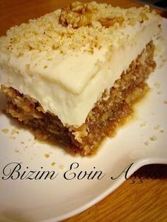 This is Sweet Super One Thing ,,, I can say that my favorite is in syrup desserts, I think I think … Cyprus Dessert Ingredients; Turkish Recipes, Ethnic Recipes, Turkish Sweets, No Cook Desserts, Iftar, Desert Recipes, Food And Drink, Tasty, Baking