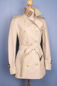 Beautiful vintage Burberry trench coat, refurbished to a modern look, $299