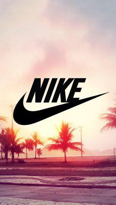 Nike,palmier,soleil.