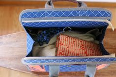 Maker's Tote PDF sewing pattern by Anna Graham   Noodlehead