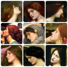 Waterhouse faces!  PERFECTION