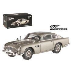 "Aston Martin DB5 Elite Edition James Bond 007 ""Goldfinger"" Movie 1964 1/43 Diecast Model Car by Hotwheels"