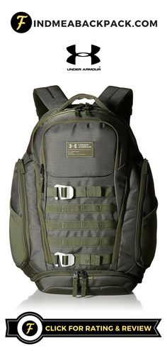 7aa3d1e152f Under Armour - Huey Backpack   Downtown Green   Click for Rating and Review    Under