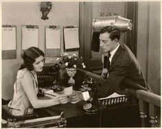 "Marceline Day and Buster Keaton ""The Cameraman"" 1928"
