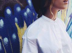 #zara #vintage #white #shirt #burgundy #rounded #hat