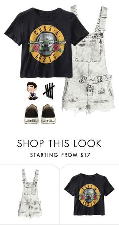 """""""Yeah we're losers and we're alright with that"""" by heyitskayden ❤ liked on Polyvore featuring H&M and Converse"""