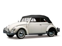 A superbly presented early, original Beetle with desirable accessories and features. Volkswagen Beetle Cabriolet, Auto Volkswagen, Vw Cabriolet, Vw Beetle Convertible, Vw Super Beetle, Bug Car, Microcar, Vw Golf Mk4, Vw Cars