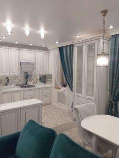 Ceiling Design Living Room, Dining Room Design, Interior Design Living Room, Kitchen Design, Small Space Interior Design, Home Office Design, House Design, Home Decor Kitchen, Kitchen Interior