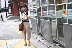 獨家首爾街拍VOL.15:復古文藝風的換季outfits示範!