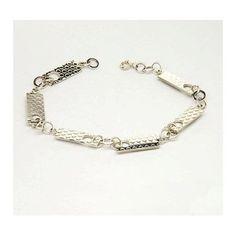 Silver Dotty Link Bracelet