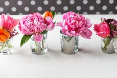 Editor's Weekly Wrap-Up: Neutral Nail Polish Shades, DIY Mini Monogrammed Mirror Vases, Ring Bearer Pillow Alternatives, Ways to Decorate With Tassels, And Red, White, And Blue Decor 1403722352_content_finished-mini-monogram-votive-vases11 – Project Wedding Blog