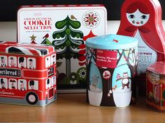 Marks & Spencer Christmas Biscuit Tins. Ahhh, fond memories of my days there. Christmas gift ideas?
