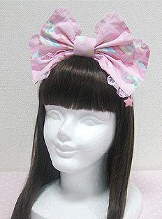 Angelic Pretty / Headwear / Sugary Carnival Headbow in Pink
