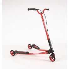 Yvolution Y Fliker Sport SP 3 Red Scooter