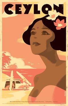 Ceylon Posters on Behance