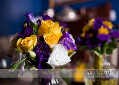 I like this mix for my bouquet. Maybe more purple to contrast with the maids' flowers