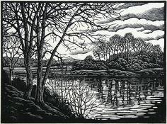 Bildergebnis für woodcut lino print