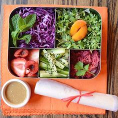 17 Easy Vegetarian Bento Box Lunches Anyone Can Make | Brit + Co