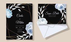 Beautiful Wedding Invitations, Floral Wedding Invitations, Wedding Invitation Templates, Elegant, Classy, Wedding Invitation Design, Chic