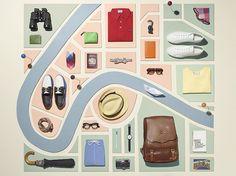 Vacation Style - Mr Porter - Sarah Parker Creative