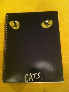 Cats Blank Book by Merrittorious on Etsy, $12.00