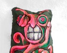 Pink Grasshopper Octopus  Monster Doll  by AlyshellsCraftShack, $25.00