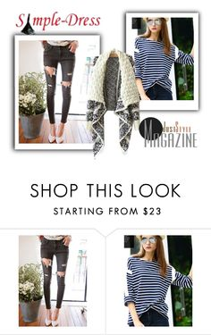 """""""Simple-dress 2"""" by minka-989 ❤ liked on Polyvore featuring simpledress"""