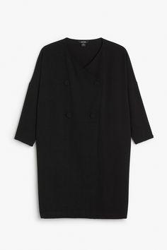 Monki Image 1 of Kasia dress in Black