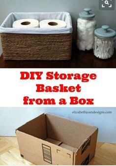 Throwing away ur carton boxes perfect way to re-use thems as a storage boxes #Home #Garden #Musely #Tip