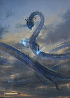 Monster Concept Art, Fantasy Monster, Monster Art, Fantasy Concept Art, Dark Fantasy Art, Fantasy Artwork, Mythical Creatures Art, Mythological Creatures, Mythical Dragons