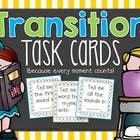Transition task cards are a fun way to review key concepts while transitioning to a new task! I use them several times throughout the day as we tra...