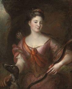 Marie-Marguerite Le Fèvre d'Ormesson, 5e. Marquise de Goulaine et du Plessis-Josso (1717-1771), épouse de Michel-Anne de Rosmadec, Marquis de Goulaine et du Plessis-Josso.