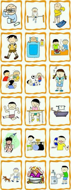 Tons of free ESL/ELD flashcards! The clip art would also be useful for regular language arts vocabulary lessons. Tons of free ESL/ELD flashcards! The clip art would also be useful for regular language arts vocabulary lessons. Teaching French, Teaching Spanish, Teaching English, Teaching Kids, Learn Spanish, English Activities, Language Activities, Daily Activities, Speech Language Therapy