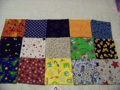 4 Inch Quilt Sqs 150 Fabric Squares Halloween by acraftylady812